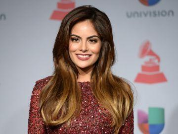 Ximena Navarrete en una alfombra roja de Univisión | Getty Images