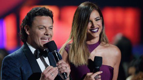 Pedro Fernández en la conducción de los Premios Billboard | Getty Images