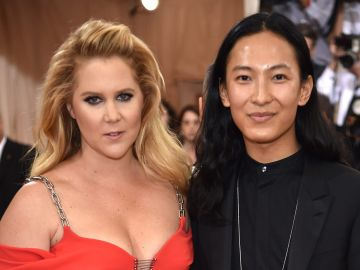 Amy Schumer and Alexander Wang | Dimitrios Kambouris / Getty Images