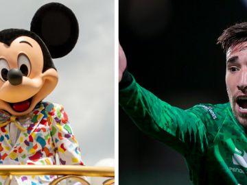 Mickey Mouse y Santos Laguna | Getty Images
