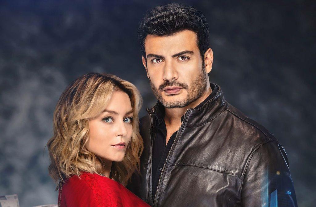 Angelique Boyer y Andrés Palacios