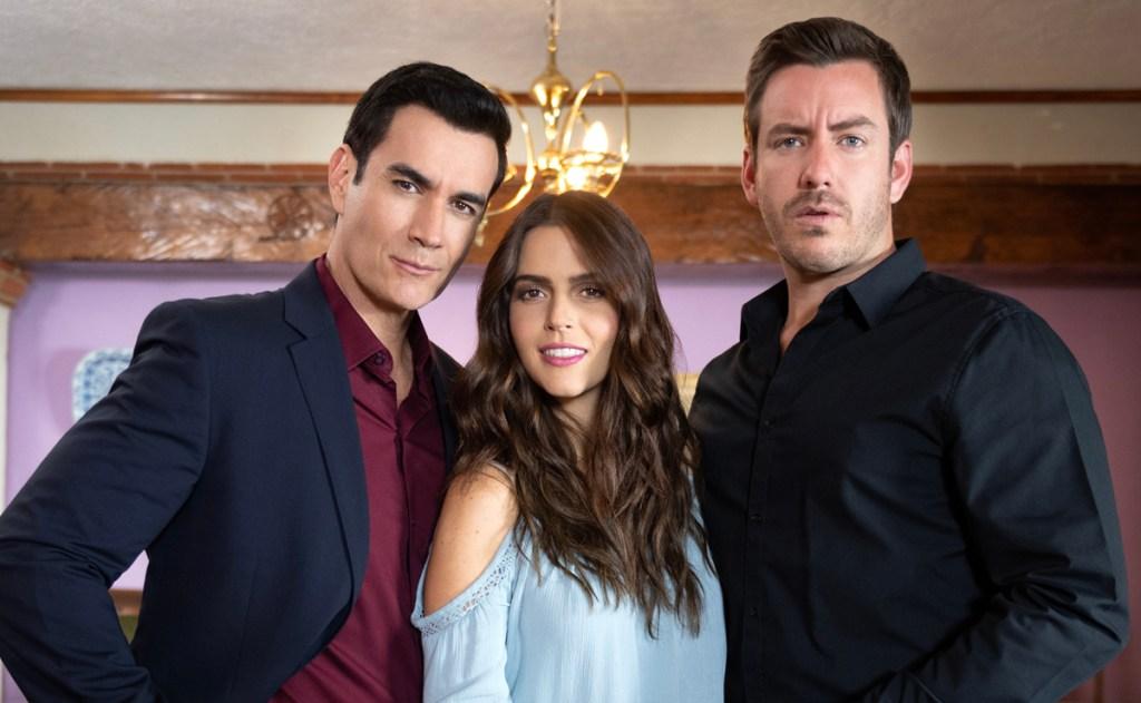David Zepeda, Claudia Álvarez y Juan Diego Covarrubias en 'Vencer El Desamor'