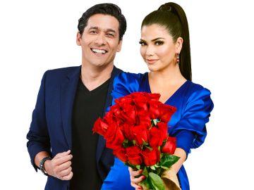 Rafael Araneda y Ana Patricia Gamez son los presentadores de 'Enamorándonos'