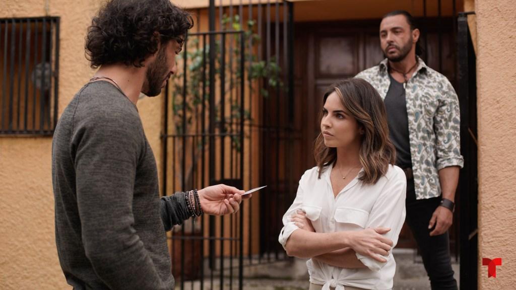 Alexa Martin llega como Victoria Lamas a 'Falsa Identidad'