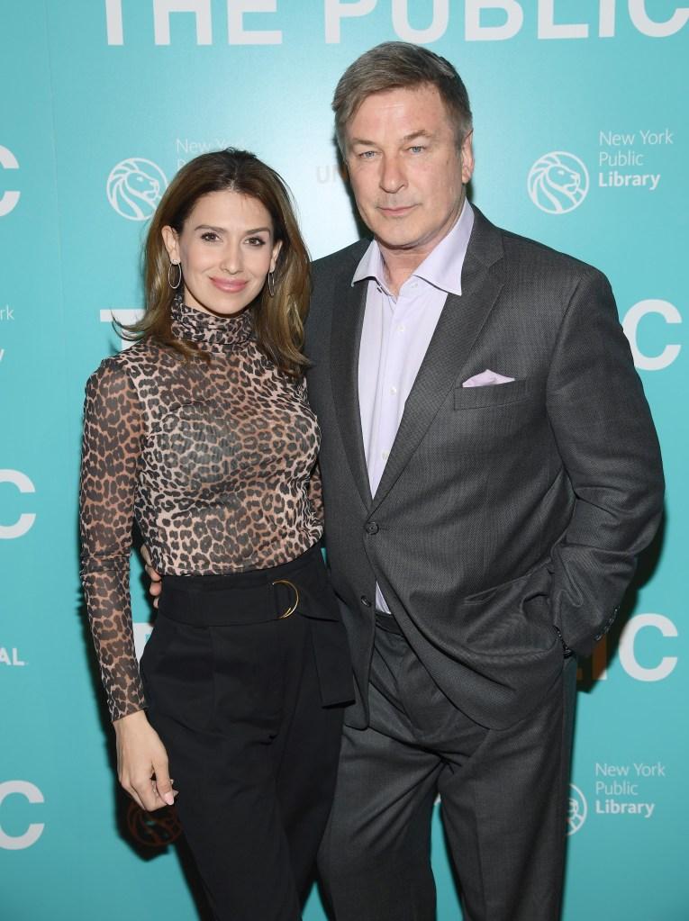 Hilaria Baldwin y su esposo Alec Baldwin