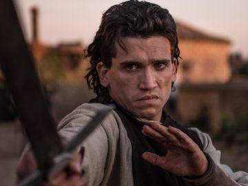 Jaime Lorente en El Cid.