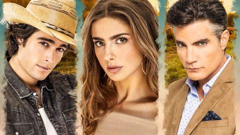 Danilo Carrera, Michelle Renaud y Victor González protagonizan 'Quererlo Todo'.