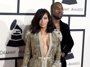 Kim Kardashian y Kanye West   Mezcalent