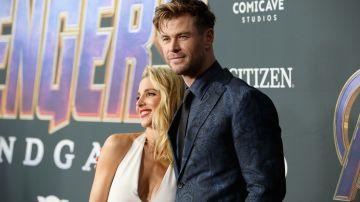 Chris Hemsworth y su esposa Elsa Pataky | Getty Images