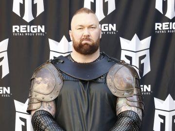 El actor de Game of Thrones, Hafþór Júlíus Björnsson | Brian Ach / Getty Images for REIGN Total Body Fuel