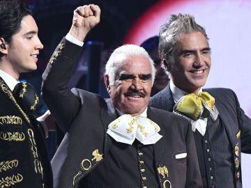 Alex Fernández, Vicente Fernandez y Alejandro Fernández | Getty Images, Valerie Macon