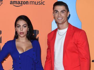 Georgina Rodriguez y Cristiano Ronaldo |Kate Green/Getty Images for MTV
