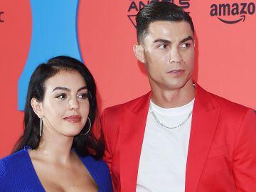 Cristiano Ronaldo y su novia Georgina Rodríguez | Getty Images