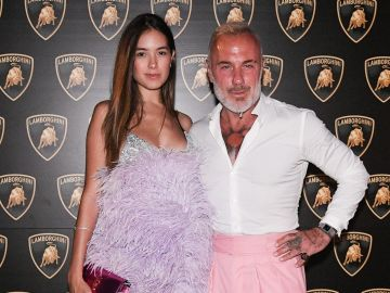 Gianluca Vacchi y Sharon Fonseca  /Getty Images, Emanuele Perrone