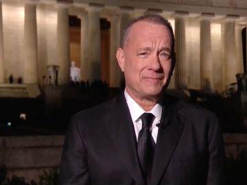 Tom Hanks | Handout/Biden Inaugural Committee via Getty Images