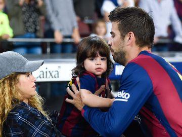 Shakira, Piqué y Milan Piqué