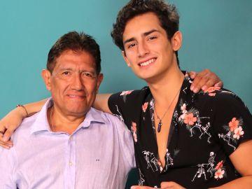 Juan Osorio y su hijo Emilio Osorio Marcos | Mezcalent