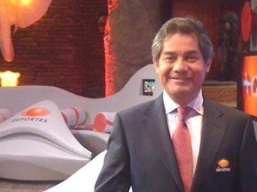 Gerardo Valtierra en estudio de Televisa Deportes | Cortesía