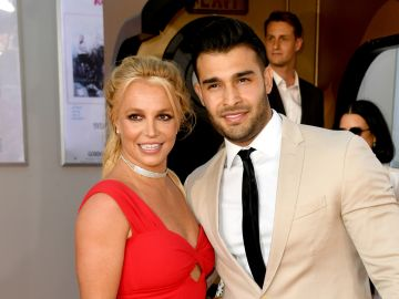 Britney Spears y Sam Asghari   Kevin Winter/Getty Images