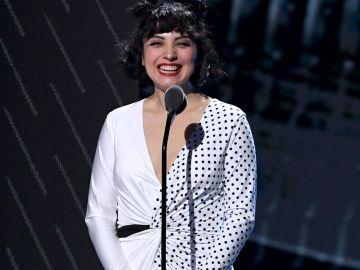 Mon Laferte durante la vigésima entrega de los Latin Grammy Awards en el MGM Grand Garden Arena en Las Vegas, Nevada | Getty Images,  Kevin Winter