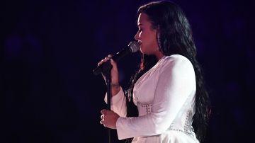 Demi Lovato en concierto | Getty Images