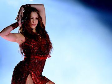 Shakira durante el show de medio tiempo en el Super Bowl LIV   Getty Images, Kevin Winter