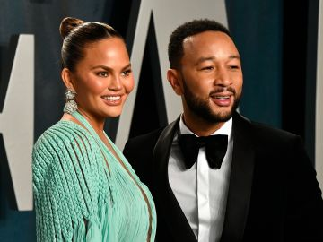 Chrissy Teigen y su esposo John Legend | Frazer Harrison/Getty Images
