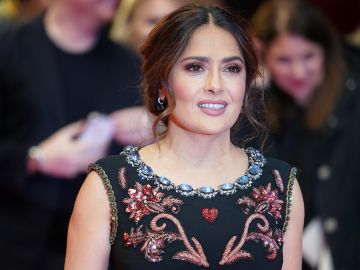 Salma Hayek | Thomas Niedermueller/Getty Images)
