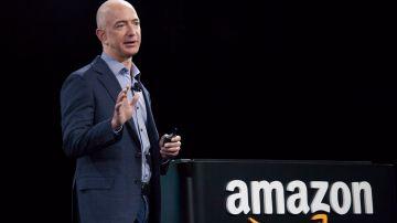 Jeff Bezos, CEO y fundador de Amazon   Getty Images