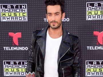 Aaron Diaz en los Latin American Music Awards de Telemundo en el Dolby Theatre Hollywood, California.     Getty Images,  Frazer Harrison