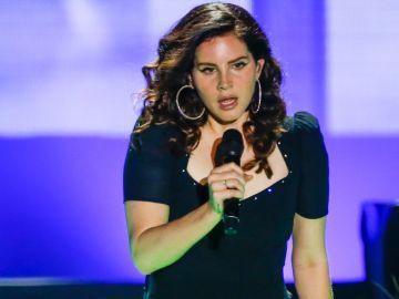 Lana del Rey durante un concierto de  Lollapaloosa en Sao Paulo   Getty Images, Alexandre Schneider