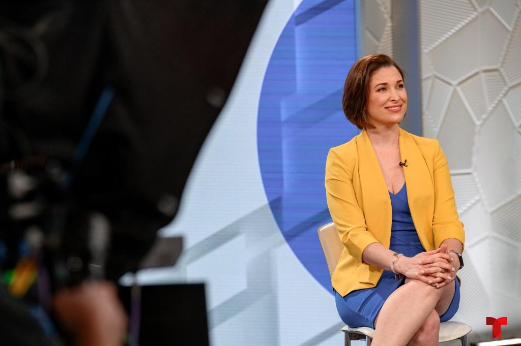 Arantxa Loizaga, presentadora de 'Hoy Día'