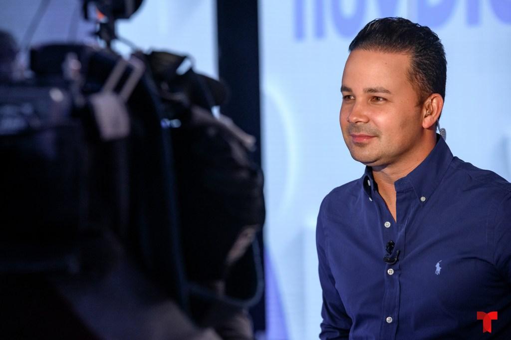 Carlos Robles, presentadora de 'Hoy Día'