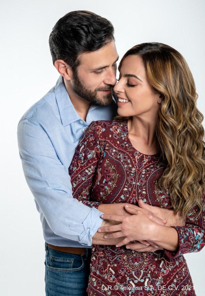 Carlos Ferro y Mariana Torres en 'Fuego Ardiente'