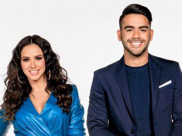 Ana Jurka y Carlos Adyan, los presentadores de 'En Casa con Telemundo' | Telemundo