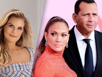 Madison LeCroy, Jennifer López y Alex Rodríguez