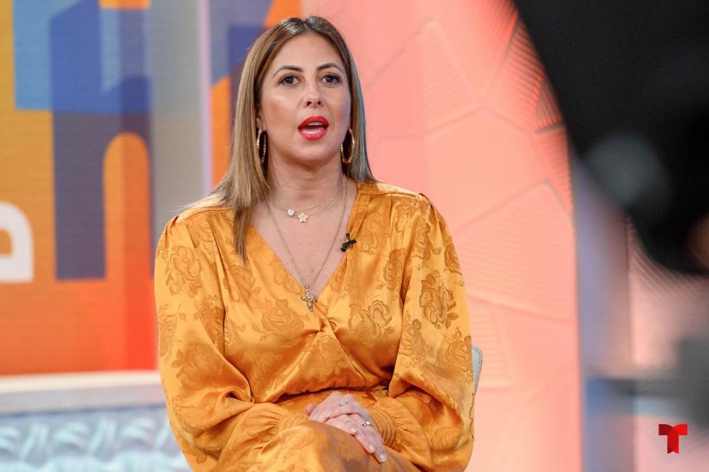 Stephanie Himonidis, presentadora de 'Hoy Día'