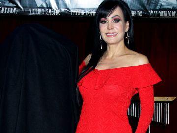 Maribel Guardia en el foro de 'Hoy' en Televisa | Mezcalent