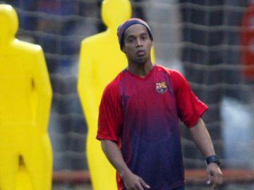 Ronaldhino en su paso por el Barcelona | Mezcalent