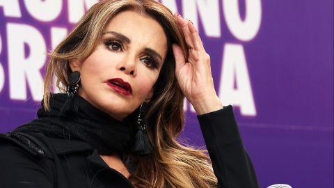 Lucía Mendez en el foro 'Grandes de los80'   Mezcalent