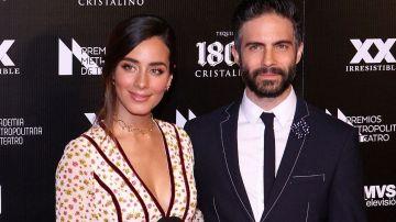 Esmeralda Pimentel y Osvaldo Benavides