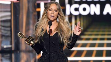 Mariah Carey recibe el Icon Award en el Billboard Music Awards en el  MGM Grand Garden Arena de Las Vegas, Nevada | Getty Images, Kevin Winter
