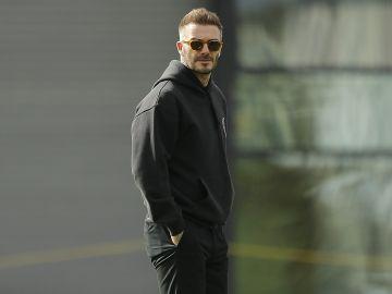 David Beckham en el partido inagural de Inter Miami CF's en Fort Lauderdale, Florida | Getty Images, Michael Reaves