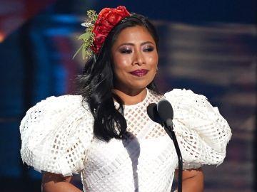 Yalitza Aparicio en los Latin Grammy Awards | Alexander Tamargo/Getty Images for The Latin Recording Academy