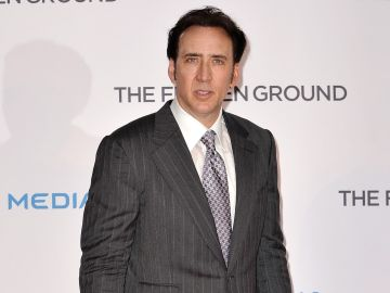 Nicolas Cage en la premier de Reino Unido The Frozen Ground'  en Vue West End en Londres, Inglaterra | Getty Images, Gareth Cattermole