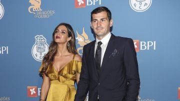 Sara Carbonero e Iker Casillas en el FC Porto Gala Dragoes de Ouro en el Dragao Caixa en Porto, Portugal   Getty Images, Carlos Rodrigues