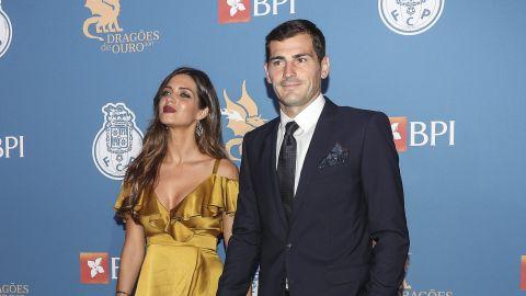Sara Carbonero e Iker Casillas en el FC Porto Gala Dragoes de Ouro en el Dragao Caixa en Porto, Portugal | Getty Images, Carlos Rodrigues