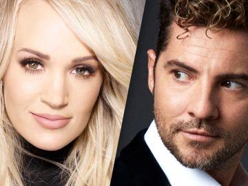 Carrie Underwood y David Bisbal