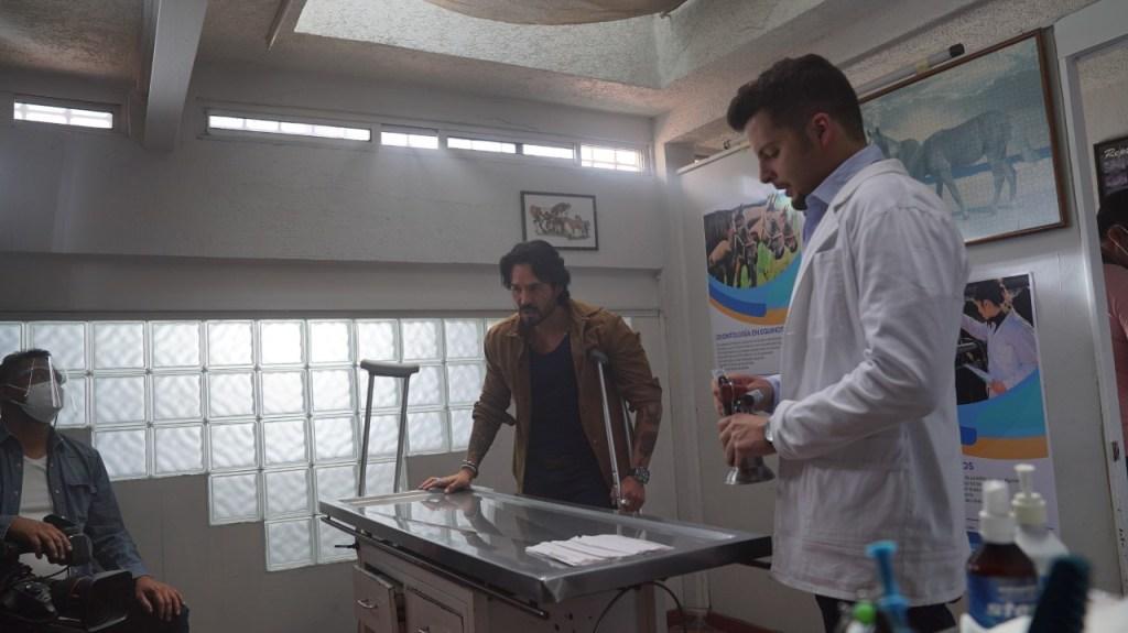 José Ron en una escena de 'La Desalmada'