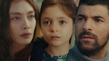 Nare, Melek y Sancar, los personajes de 'La Hija del Embajador'